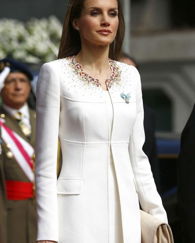 The designer of the Queen of Spain