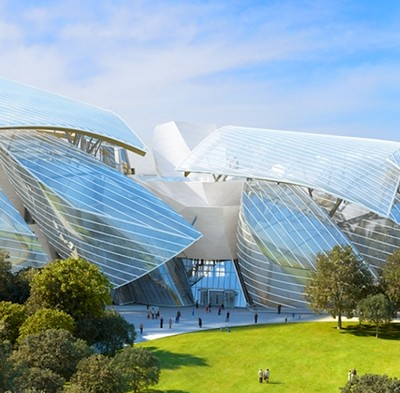 The revolution of glass of Louis Vuitton and Frank Gehry