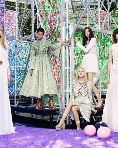 The Garden of Delights made in Dior