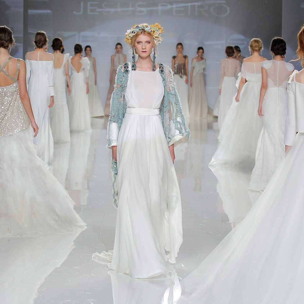 JESUS PEIRO en la Barcelona Bridal Fashion Week