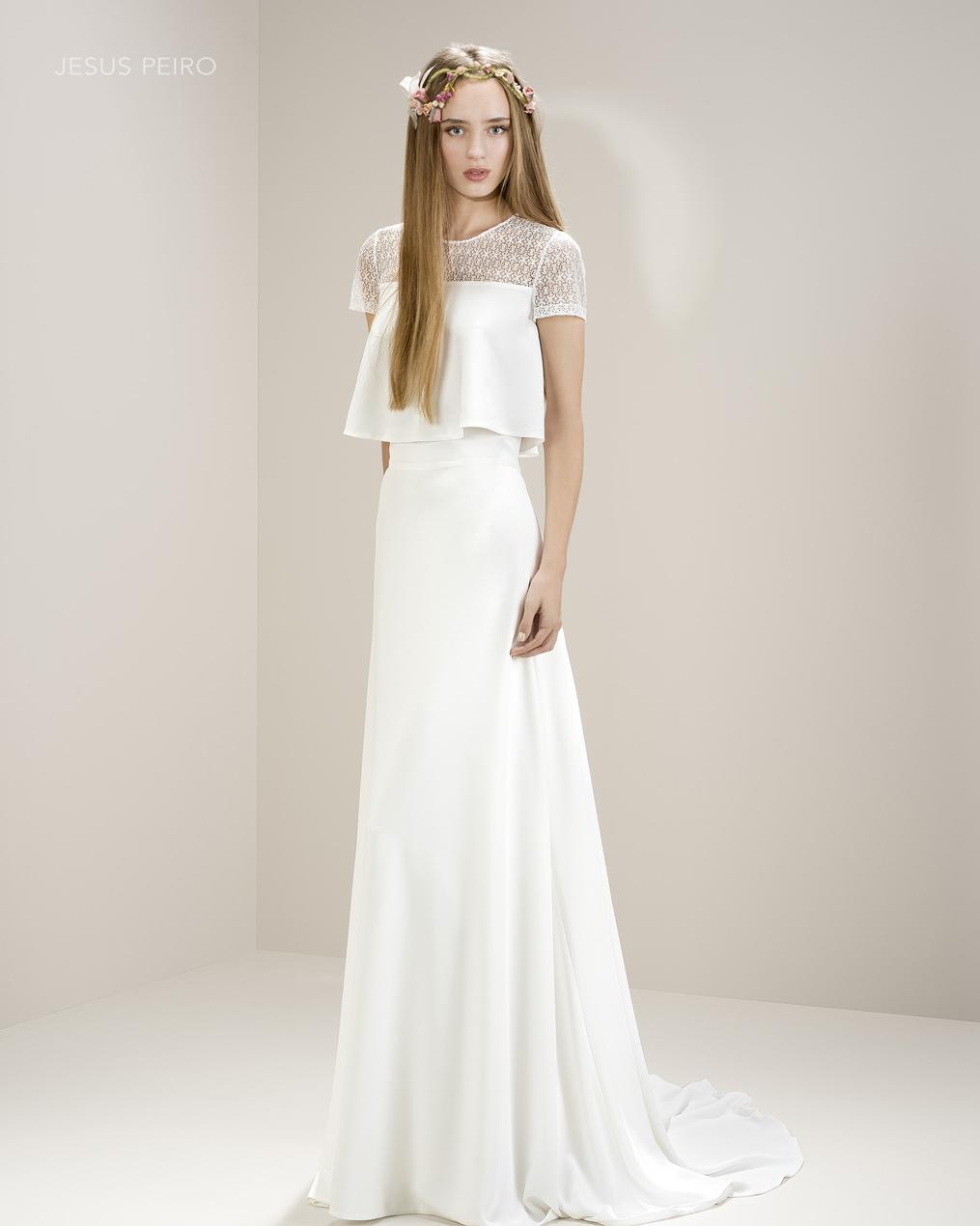 Vestido novia Jesús Peiró Ref.8001