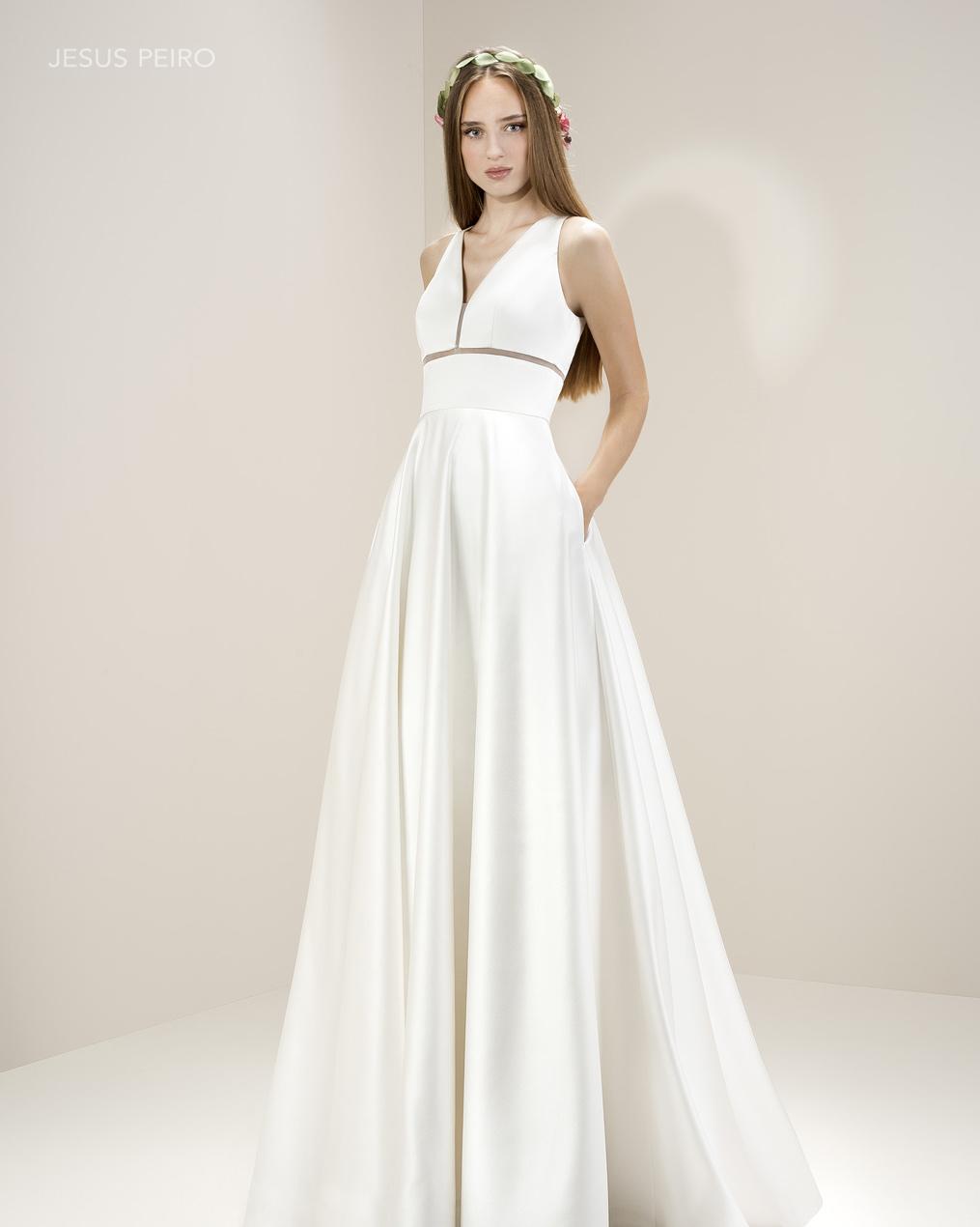 Vestido novia Jesús Peiró Ref.8002