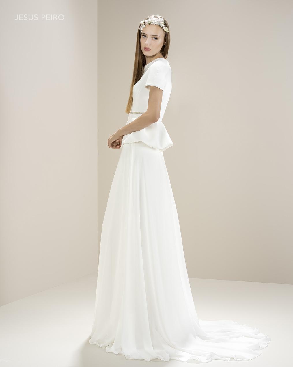 Vestido novia Jesús Peiró Ref.8003