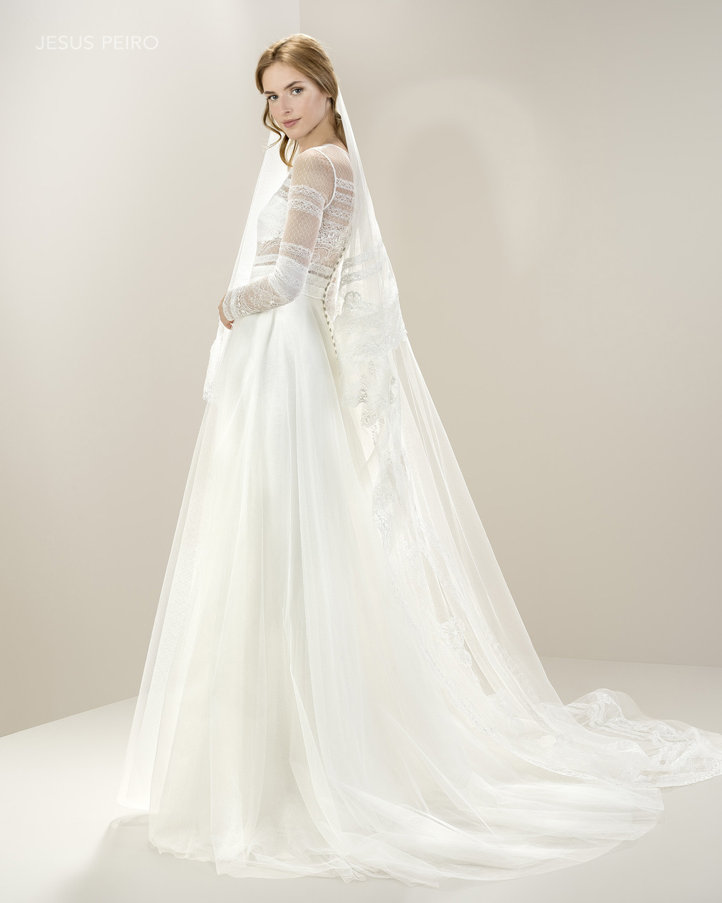 Vestido novia Jesús Peiró Ref.8016