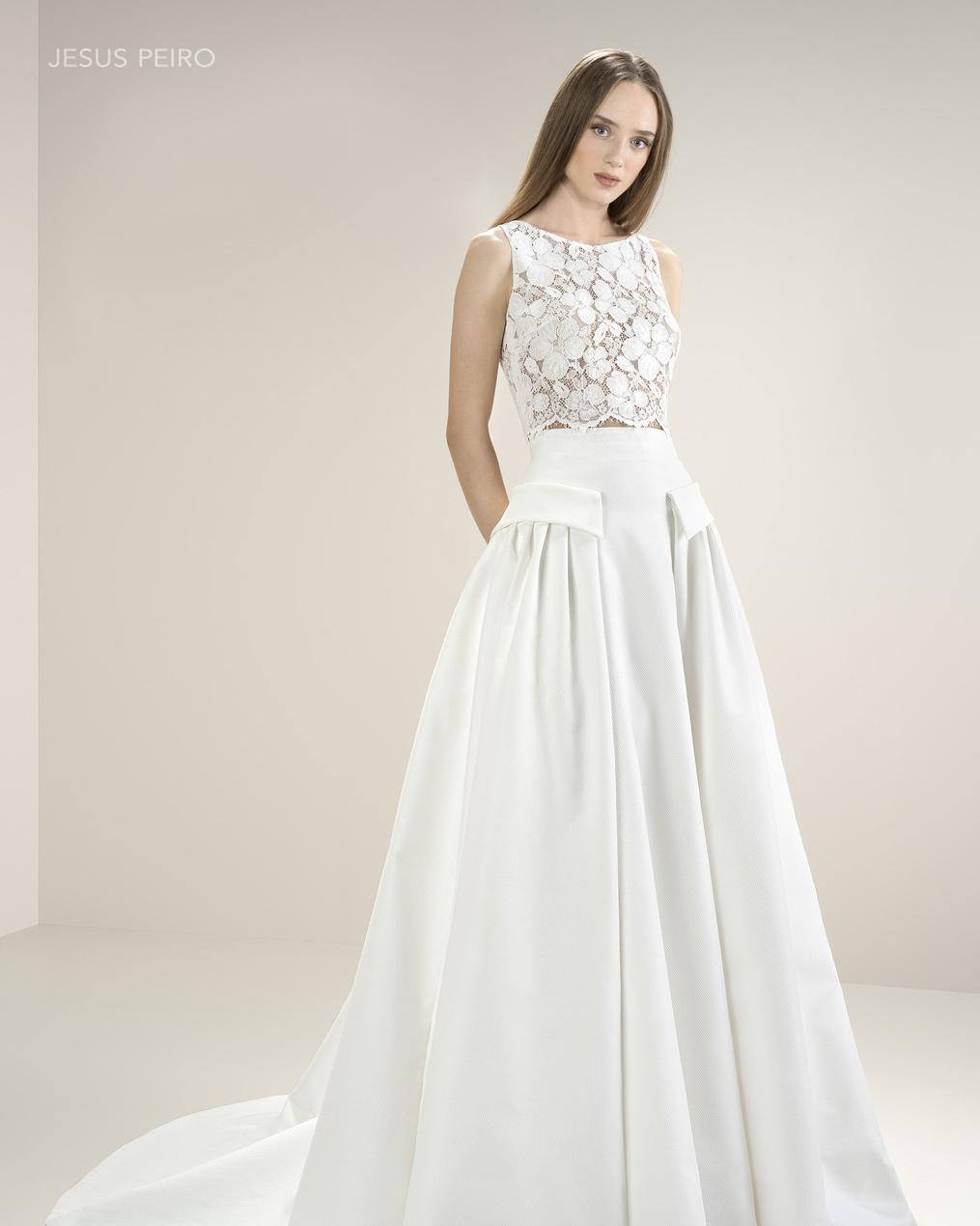 Vestido novia Jesús Peiró Ref.8043