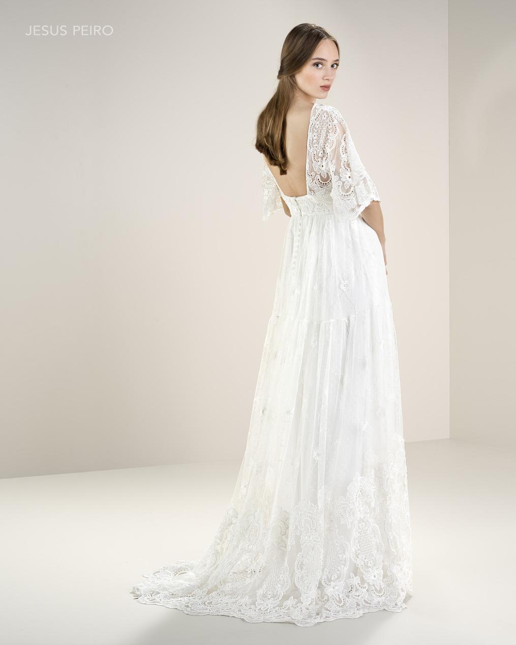 Vestido novia Jesús Peiró Ref.8044
