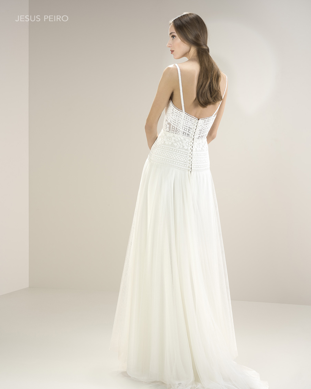 Vestido novia Jesús Peiró Ref.8058