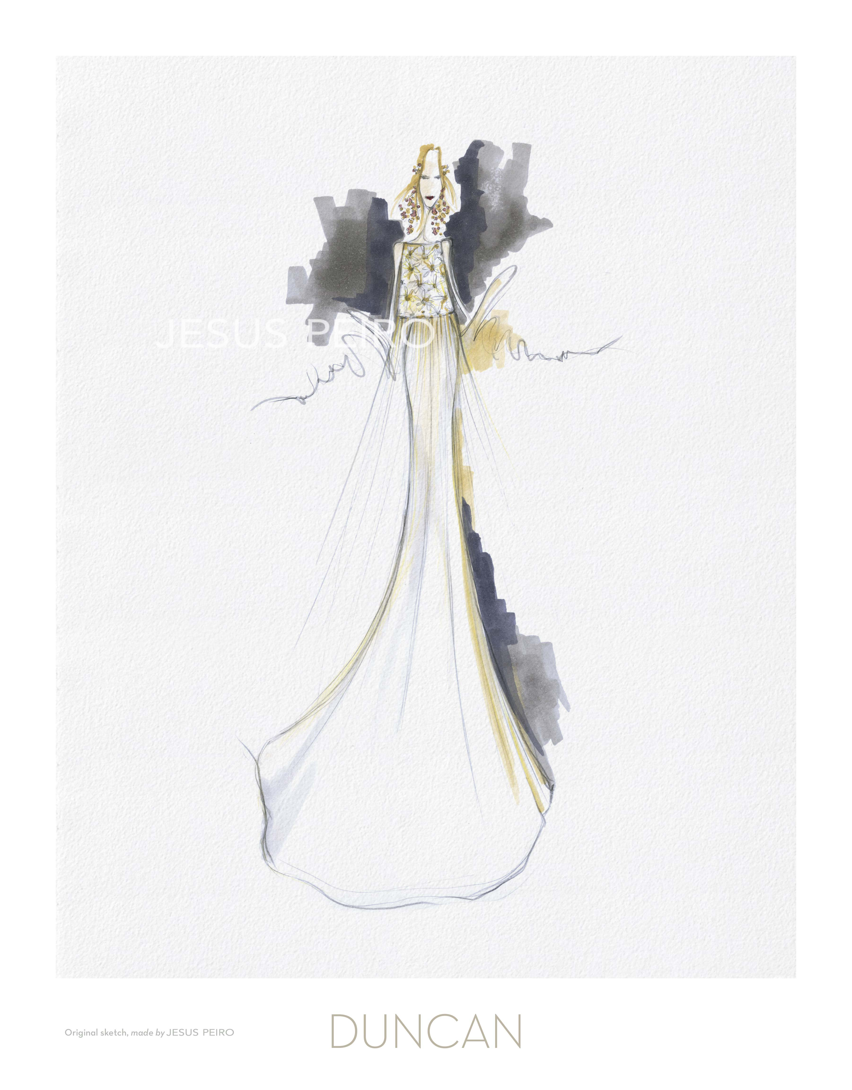 Vestido novia Jesús Peiró Ref.Duncan