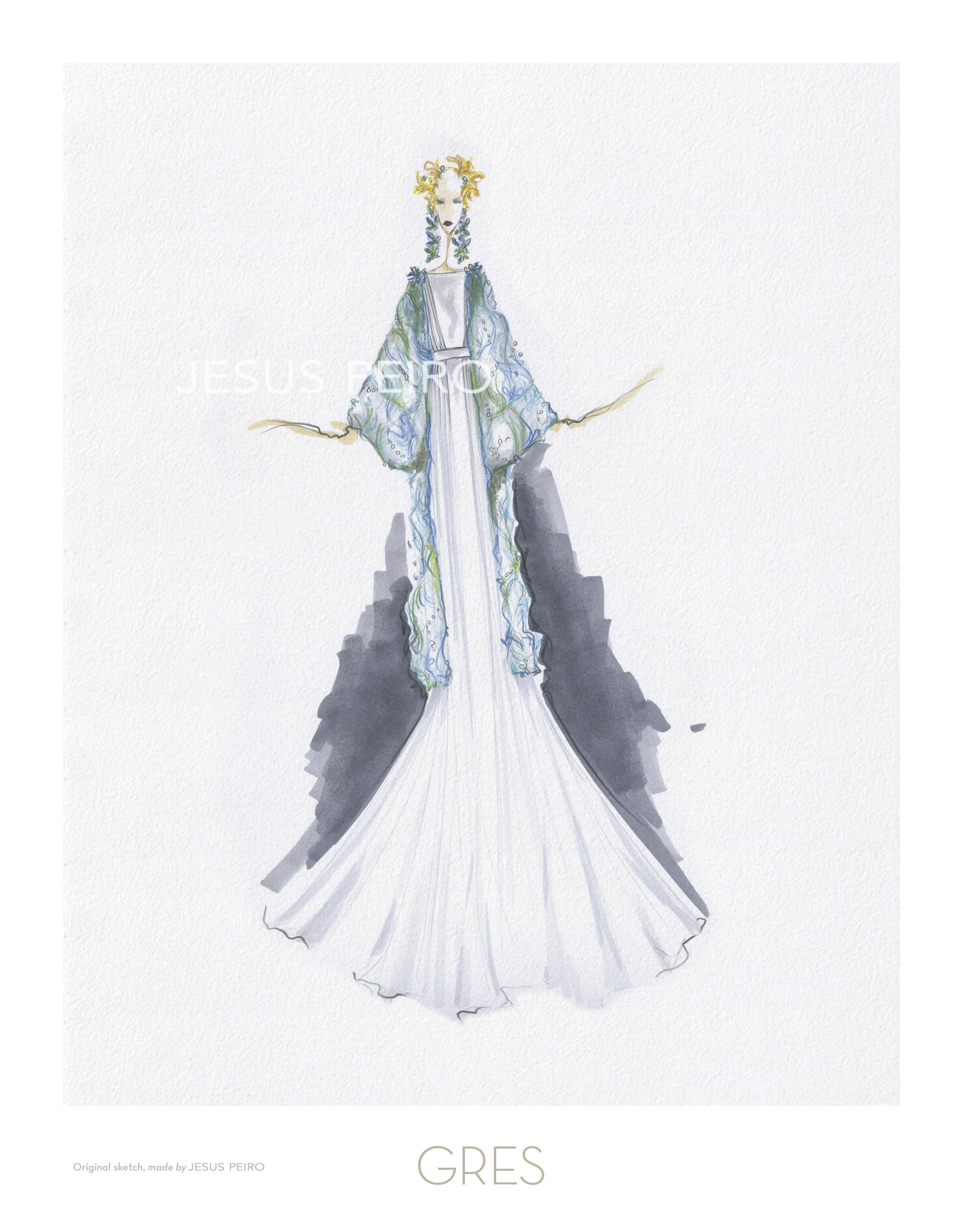 Vestido novia Jesús Peiró Ref.GRES