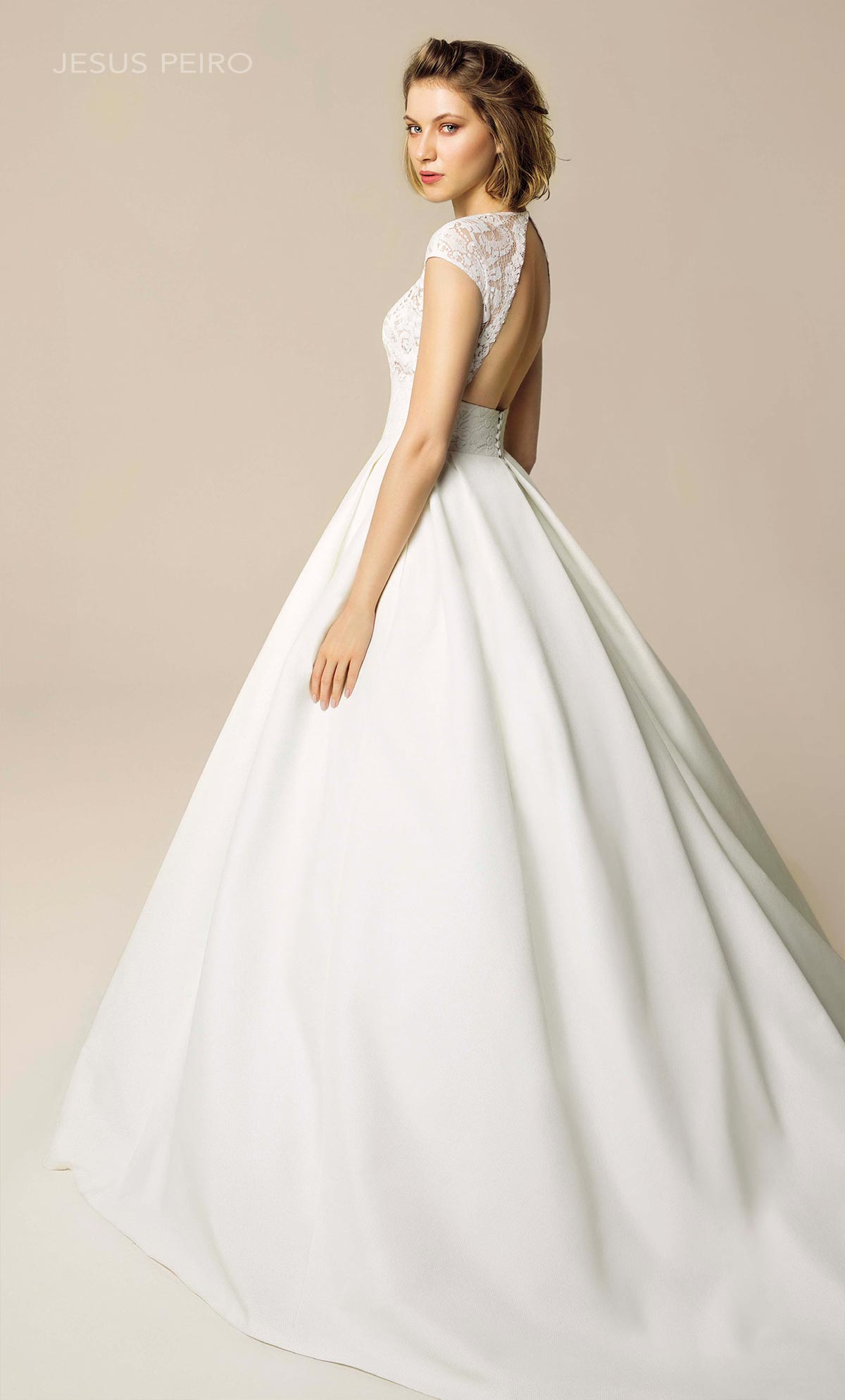Vestido novia Jesús Peiró Ref.907