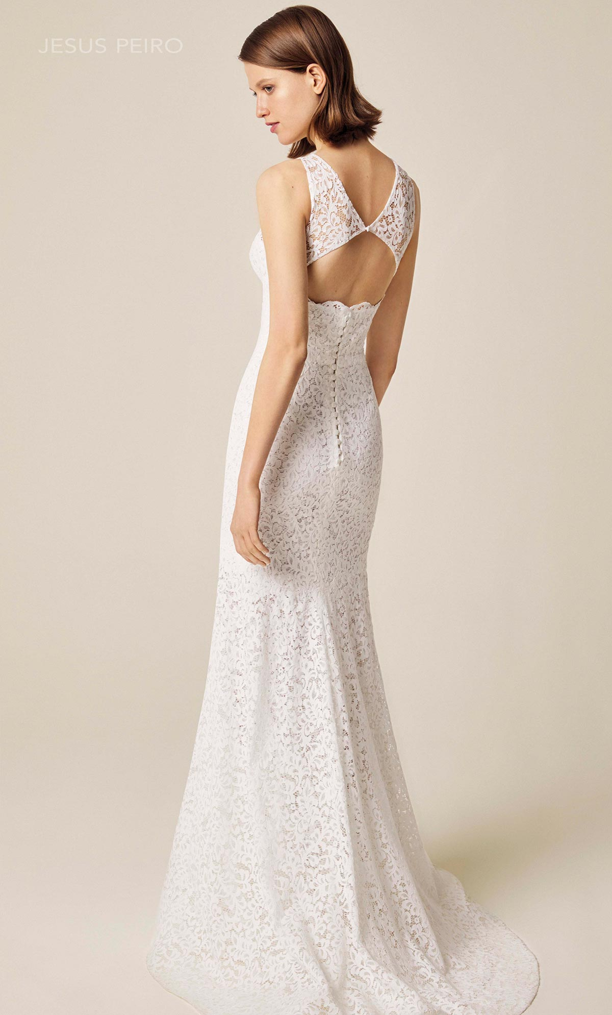 Vestido novia Jesús Peiró Ref.910
