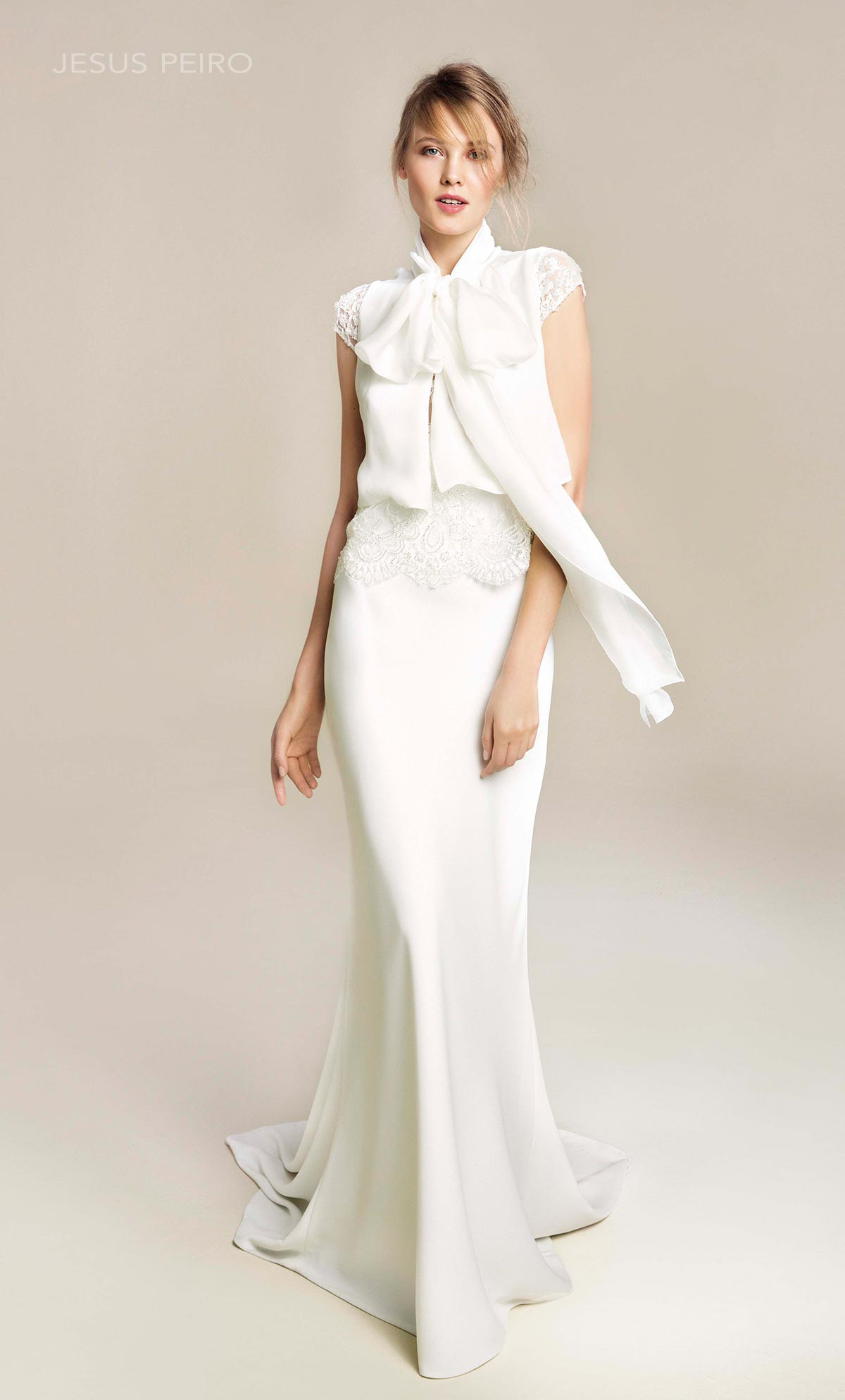 Vestido novia Jesús Peiró Ref.918