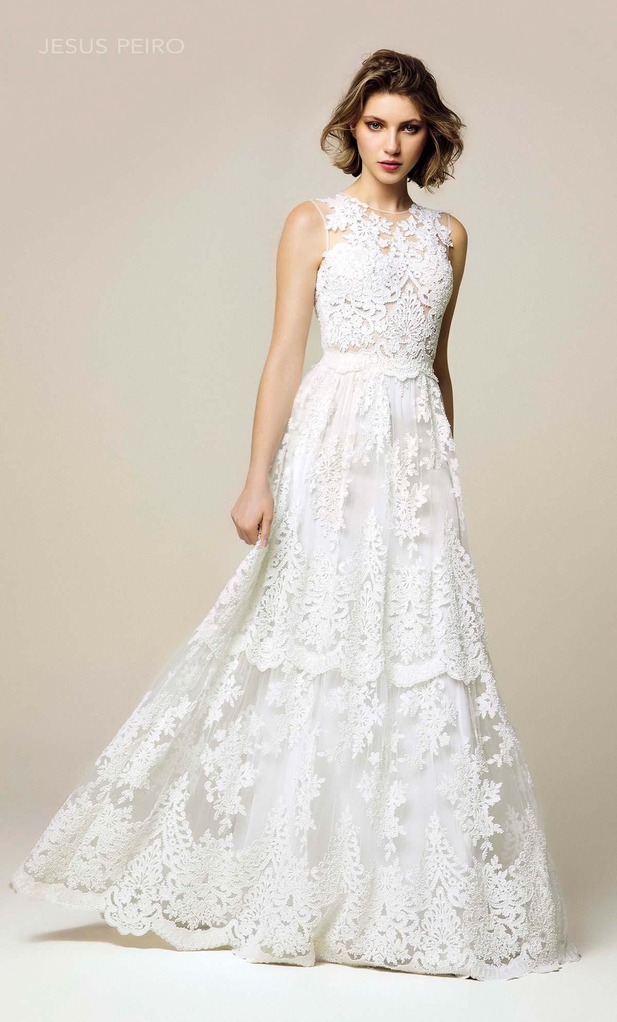 Vestido novia Jesús Peiró Ref.919