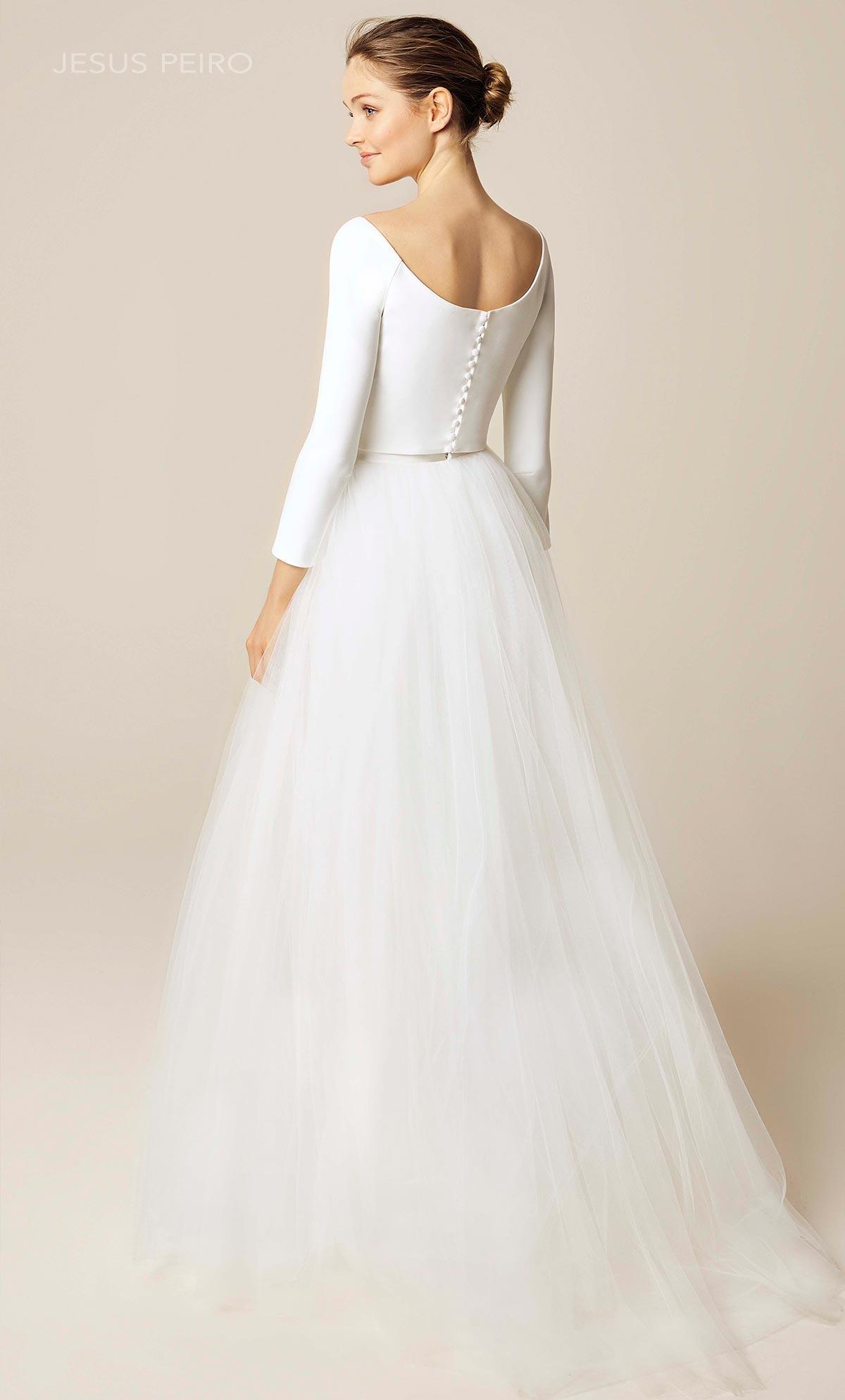 Vestido novia Jesús Peiró Ref.924