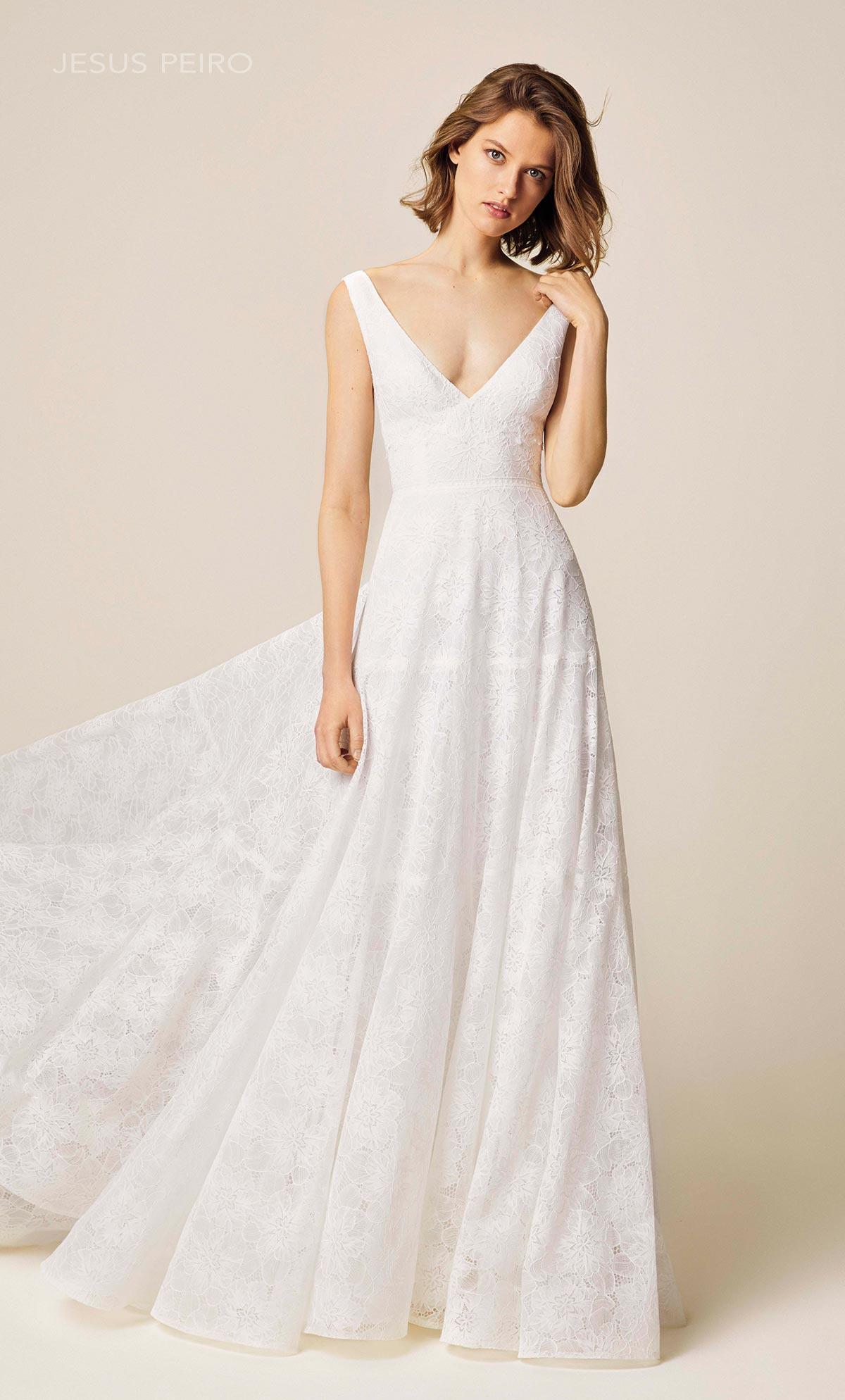 Vestido novia Jesús Peiró Ref.937