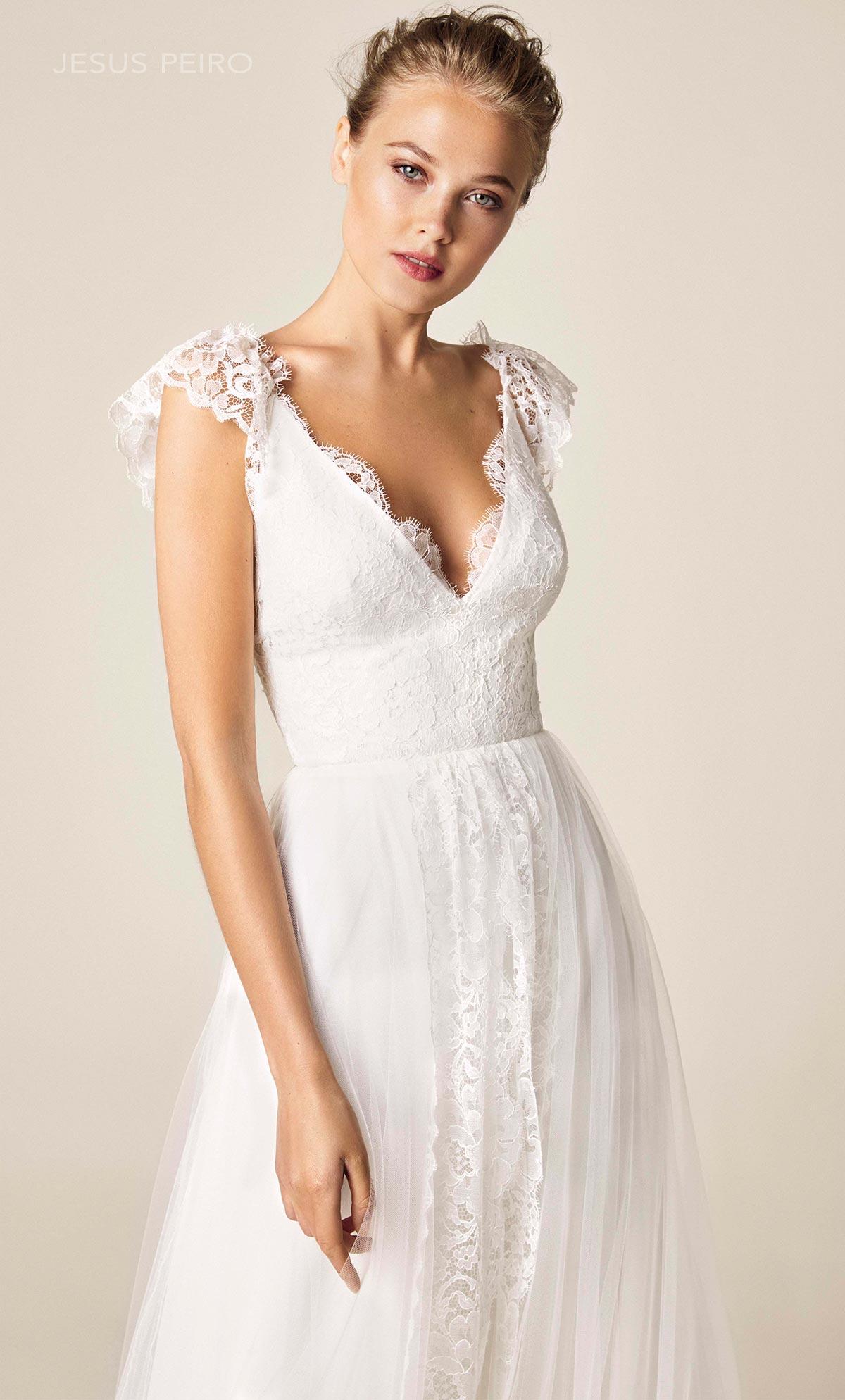 Vestido novia Jesús Peiró Ref.951