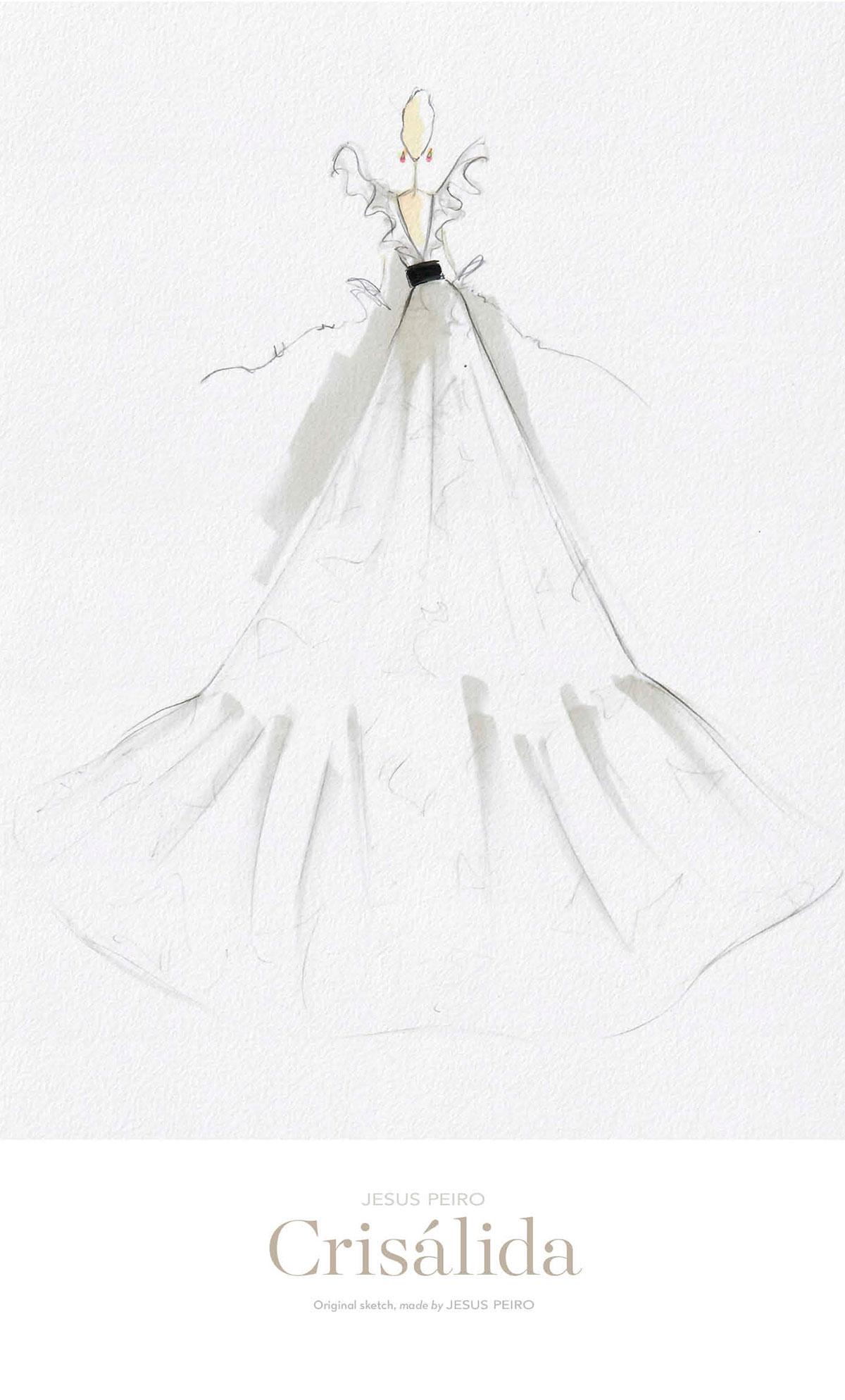 Vestido novia Jesús Peiró Ref.982