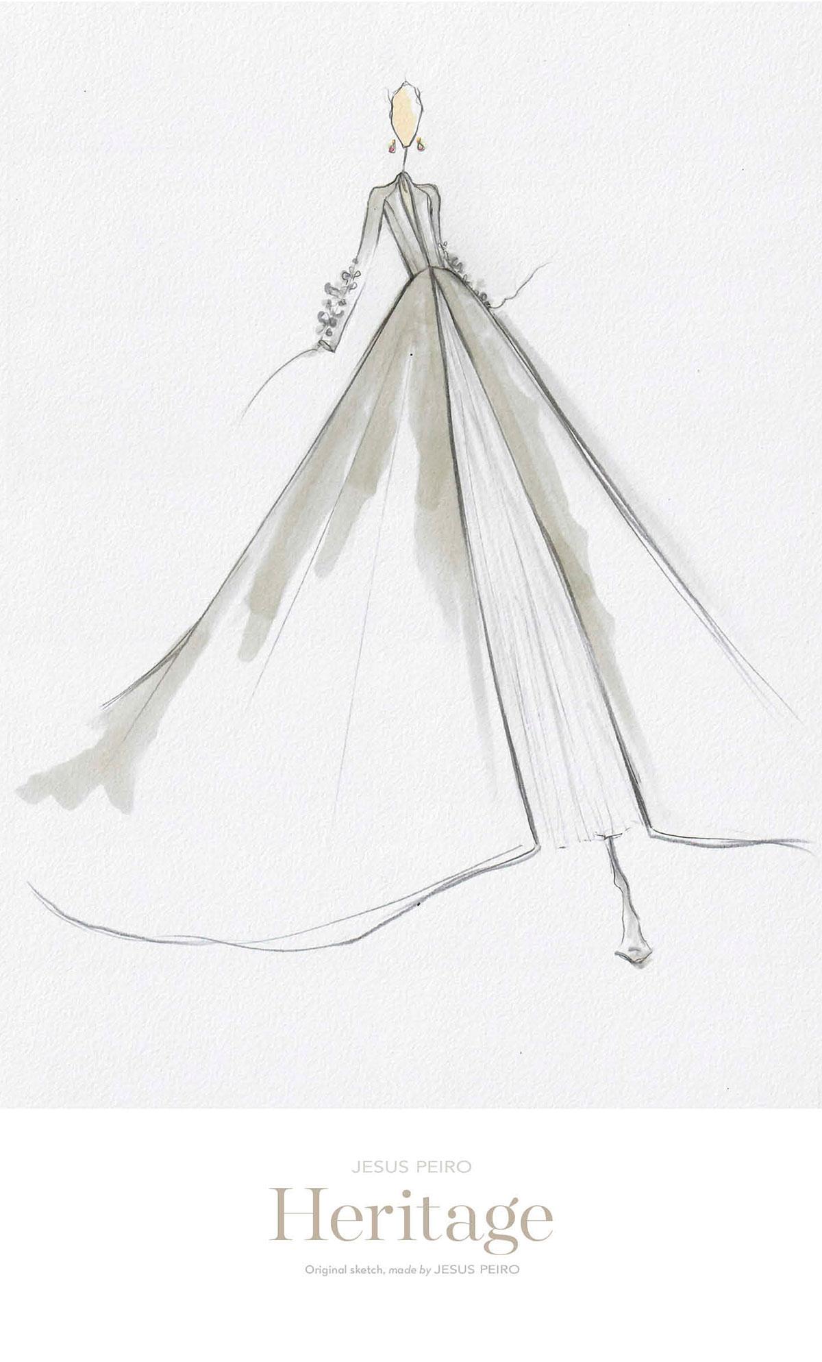 Vestido novia Jesús Peiró Ref.979