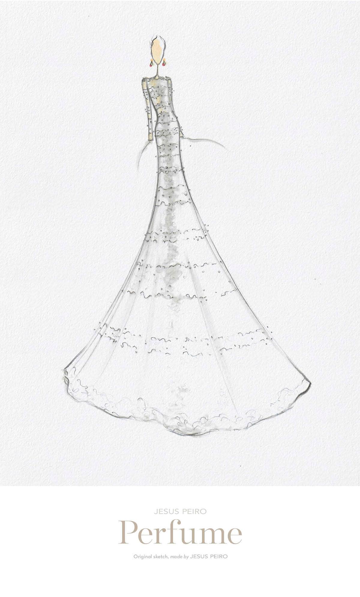 Vestido novia Jesús Peiró Ref.984