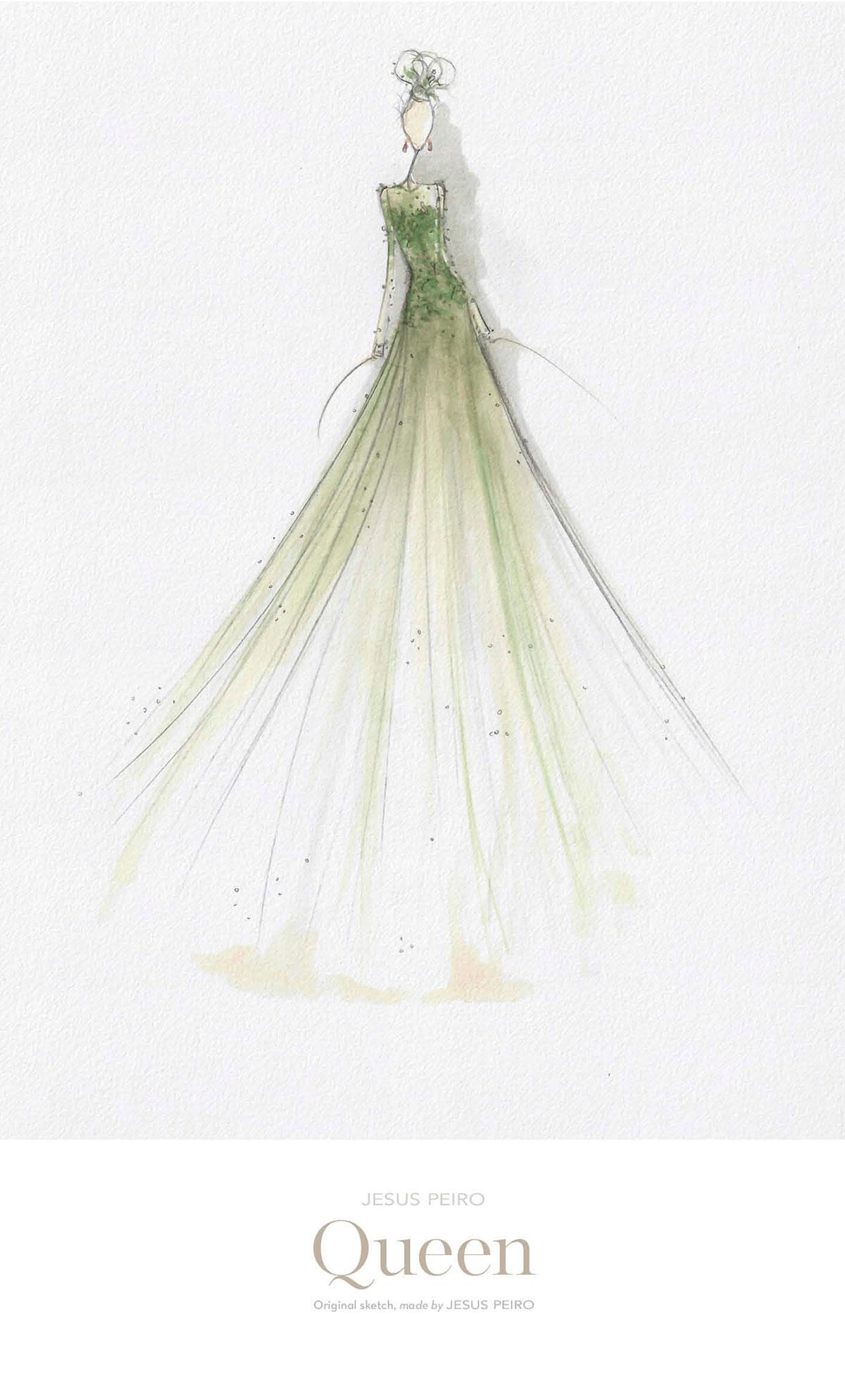 Vestido novia Jesús Peiró Ref.985