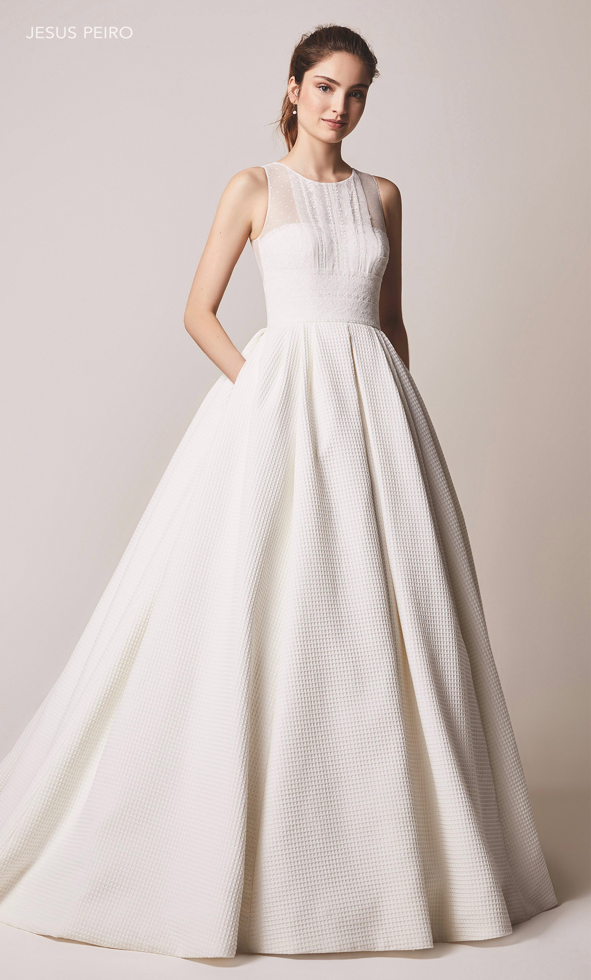 Vestido novia Jesús Peiró Ref.104