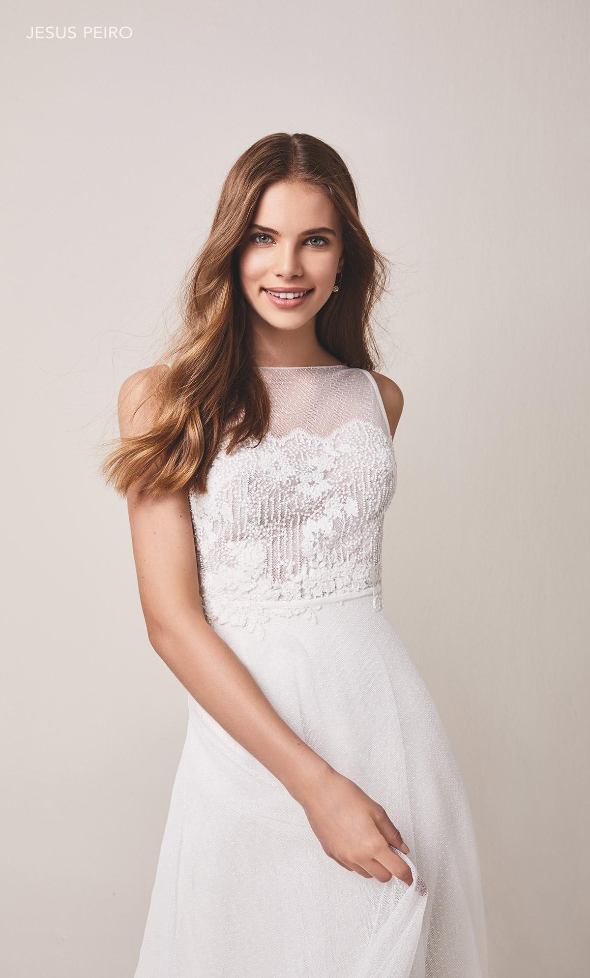 Vestido novia Jesús Peiró Ref.108