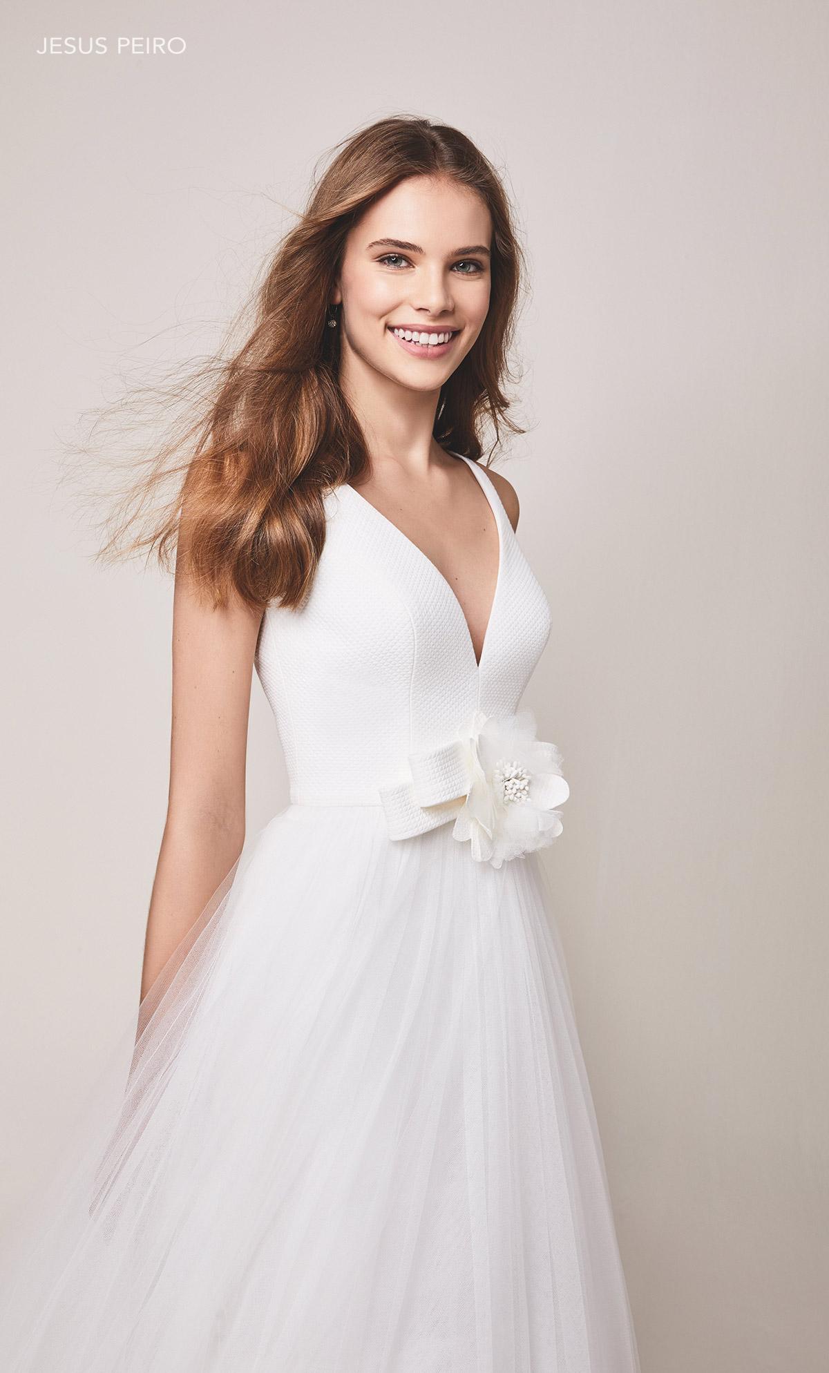 Vestido novia Jesús Peiró Ref.109