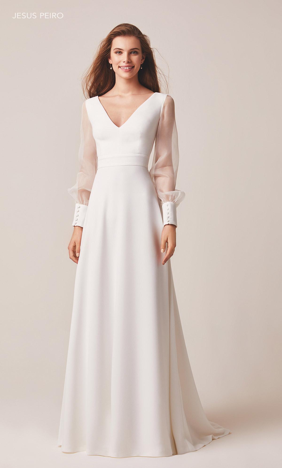Vestido novia Jesús Peiró Ref.120