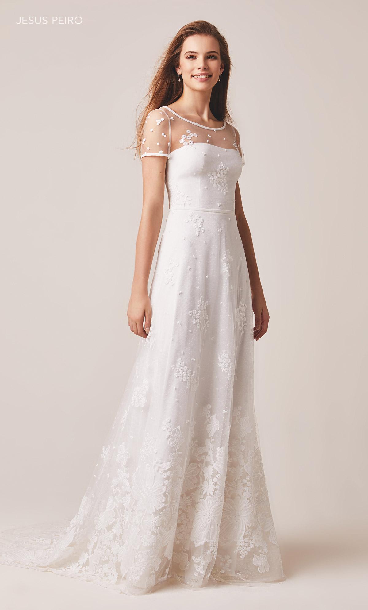 Vestido novia Jesús Peiró Ref.124