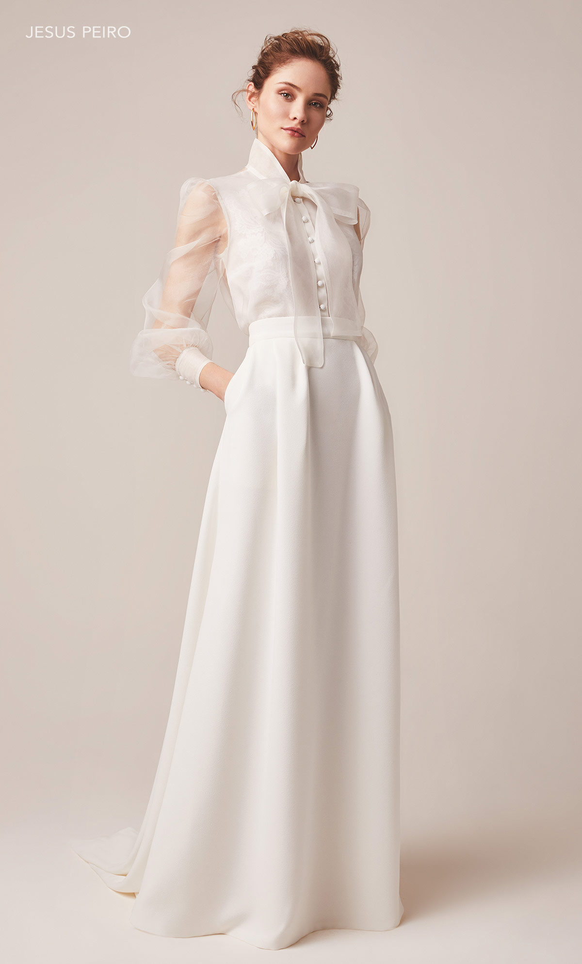Vestido novia Jesús Peiró Ref.155