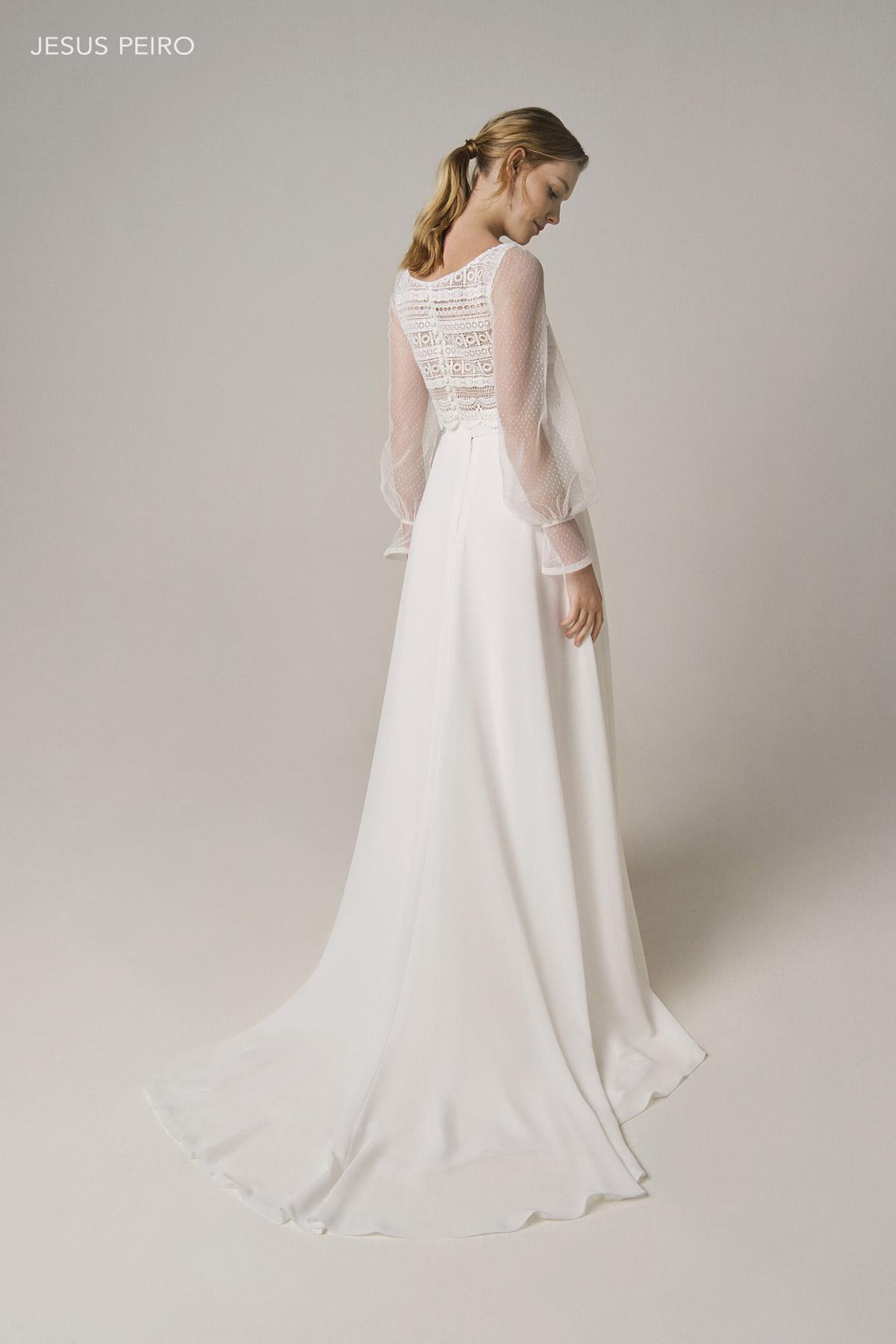 Vestido novia Jesús Peiró Ref.238