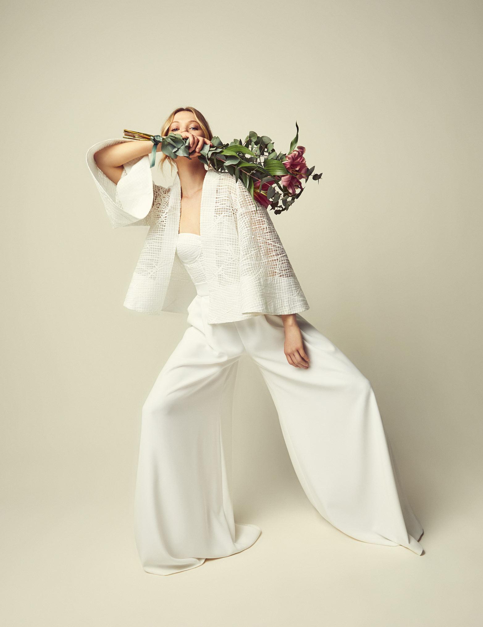 Moda Nupcial Hecha En España Jesus Peiro
