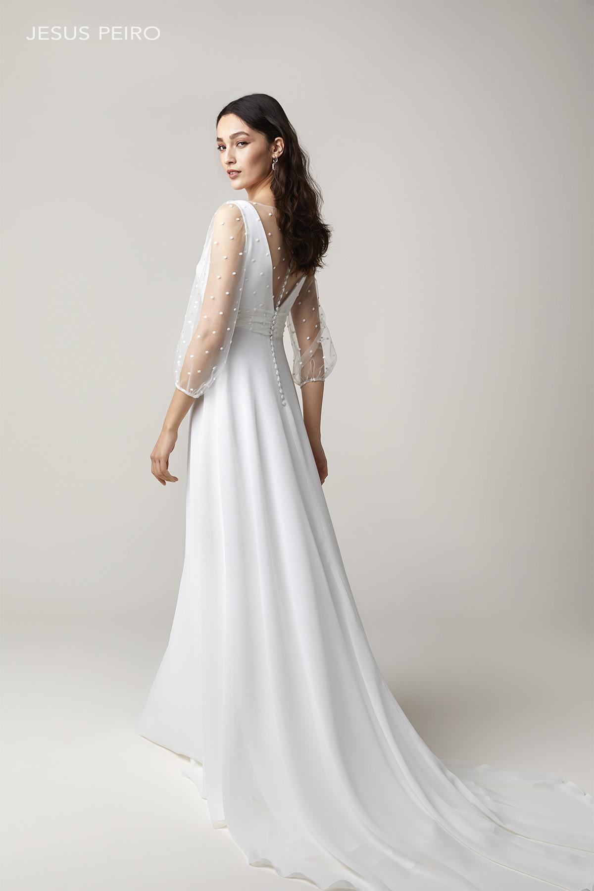 Vestido novia Jesús Peiró Ref.2231