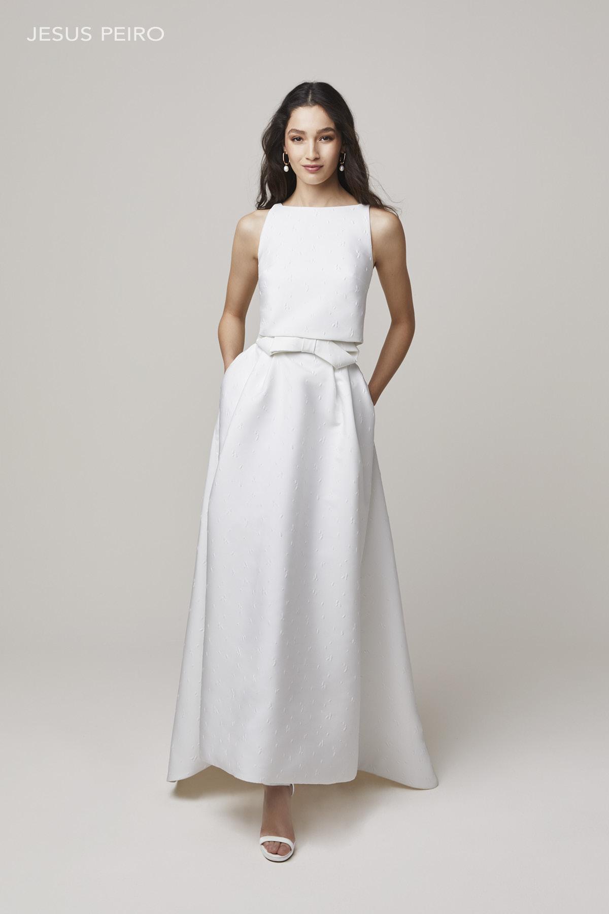 Vestido novia Jesús Peiró Ref.2205