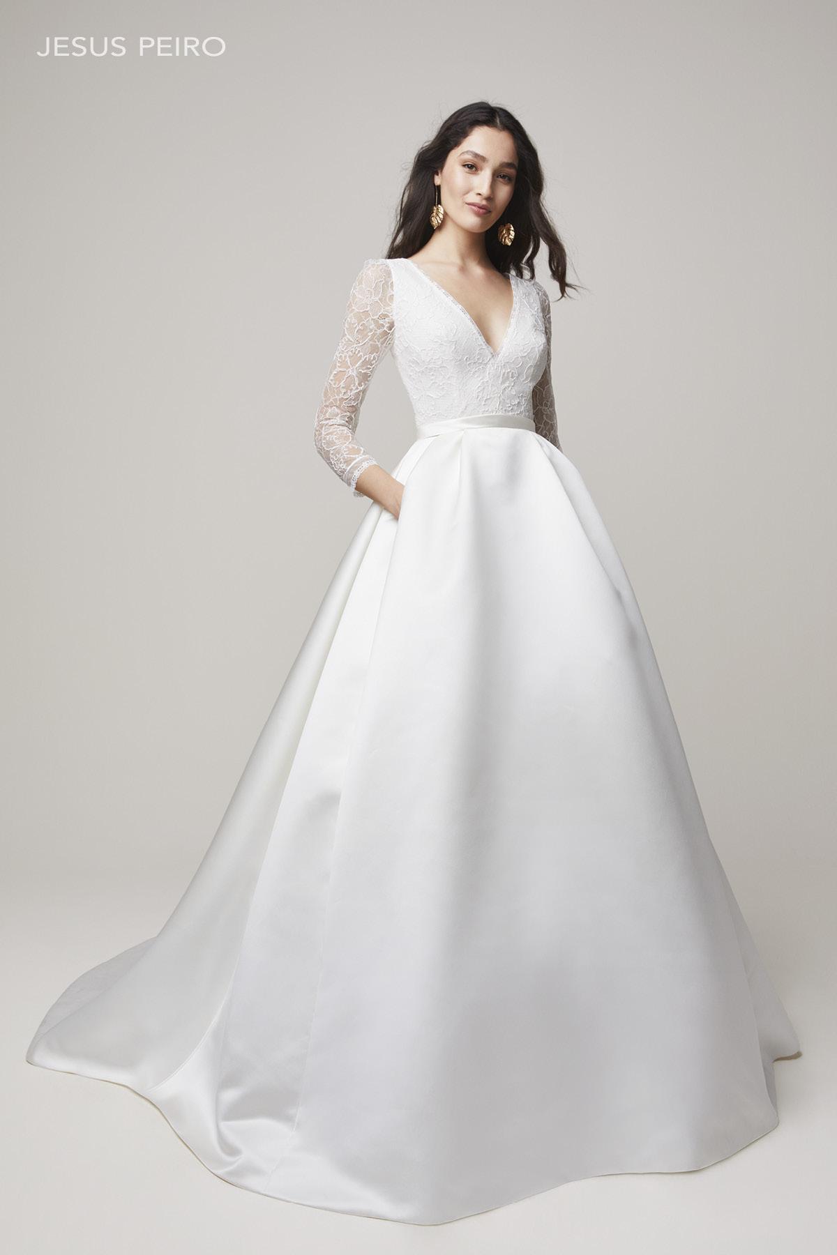 Vestido novia Jesús Peiró Ref.2210